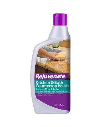Rejuvenate Bathroom & Kitchen Countertop Polish – Granite, Corian, & Marble Polish