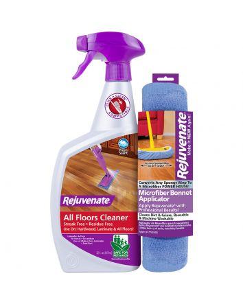 Rejuvenate 32oz. Floor Cleaner and Cleaning Bonnet