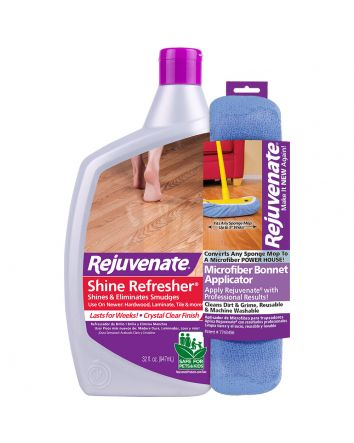 Rejuvenate 32oz. Floor Shine Refresher and Refresher Bonnet