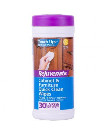 Rejuvenate Cabinet and Furniture Quick Clean Wipes