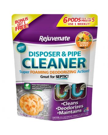 Citrus Scent Garbage Disposal and Drain Pipe Cleaner (6-Pack)