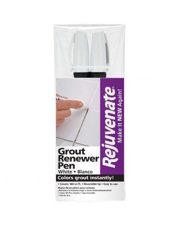 Rejuvenate White Grout Restorer Marker Pens - 2 Pack