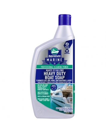 Rejuvenate Marine 32 oz Concentrated Heavy Duty Boat Soap