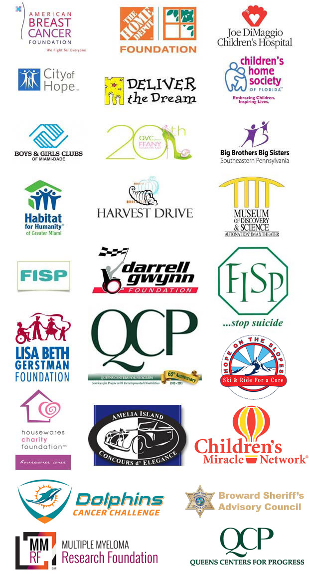 Rejuvenate is proud to support these charities