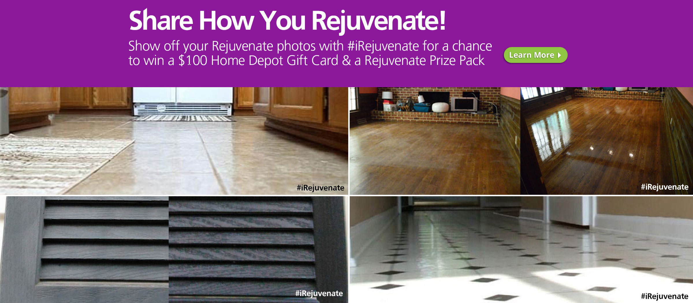 Share How You Rejuvenate Sweepstakes