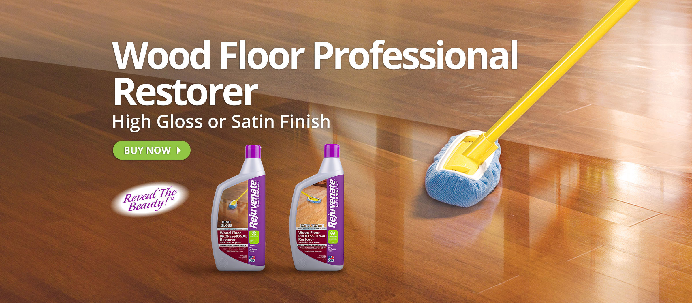Rejuvenate Wood Floor Restorer