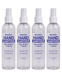 Advanced Misting Hand Sanitizer - Kills 99% of Germs (Unscented - 4 Pack)