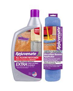 Rejuvenate 32oz All Floors Restorer and Restorer Bonnet