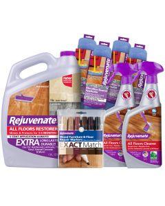 Rejuvenate Big Job Floor Restoration and Kit (8 Piece)