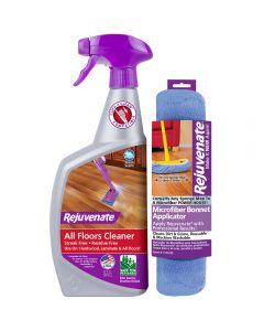 Rejuvenate 32oz Floor Cleaner and Cleaning Bonnet