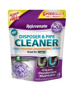 Lavender Scent Garbage Disposal and Drain Pipe Cleaner (6-Pack)