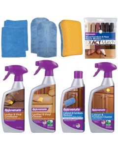 Rejuvenate Furniture, Cabinet & Leather Restoration Kit