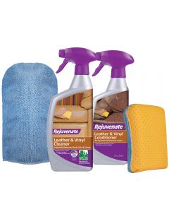 Rejuvenate Leather & Vinyl Restoration Kit (4 Piece)