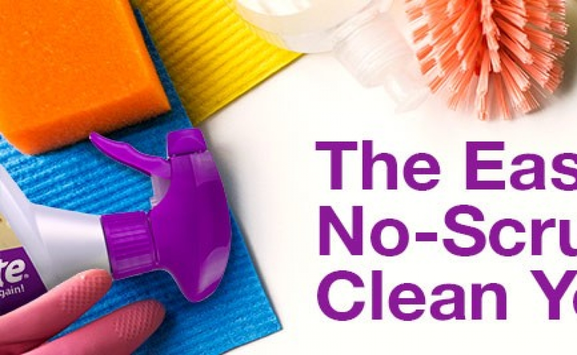 How To Clean Your House The Easy, No-Scrub Way