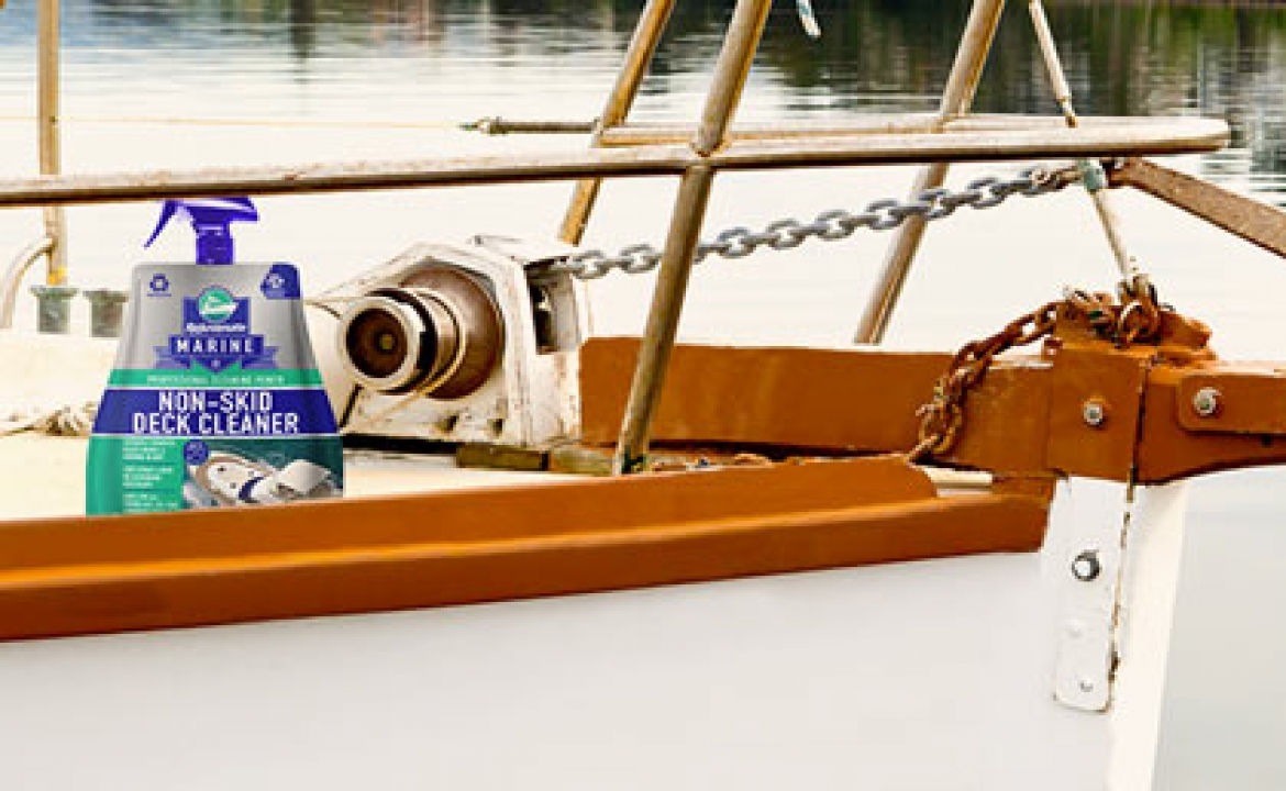 The Perfect Marine Cleaning Products For Your Boat's Deck