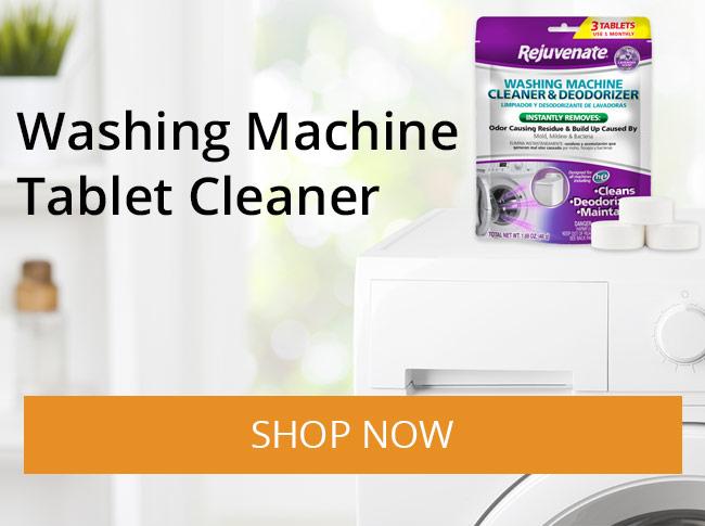 Rejuvenate Washing Machine Tablet Cleaner & Deodorizer