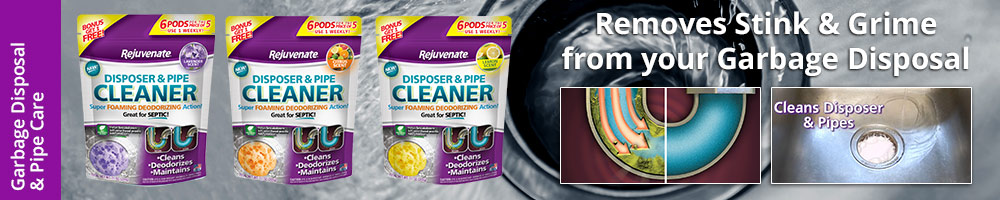 Garbage Disposal Cleaner | Drain Pipe Cleaner - Rejuvenate