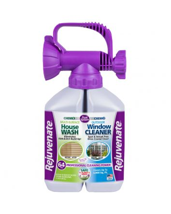 Rejuvenate Dual System Outdoor Window Cleaner & Siding Cleaner