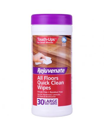 Rejuvenate All Floors Quick Clean Wipes