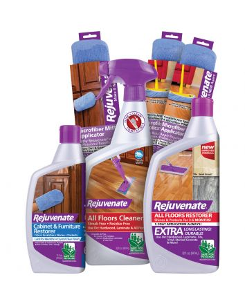 Rejuvenate Complete Floor, Cabinet and Furniture Home Restoration Kit - 6 Piece