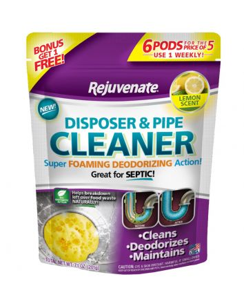 Lemon Scent Garbage Disposal and Drain Pipe Cleaner (6 Pack)
