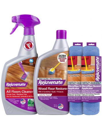 Rejuvenate Floor Pro Gloss Restorer (4 Piece Kit)