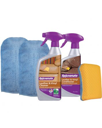 Rejuvenate Leather & Vinyl Restoration Kit (5 Piece)