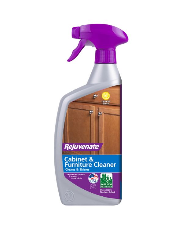 Rejuvenate Cabinet And Furniture Cleaner Streak And Residue Free