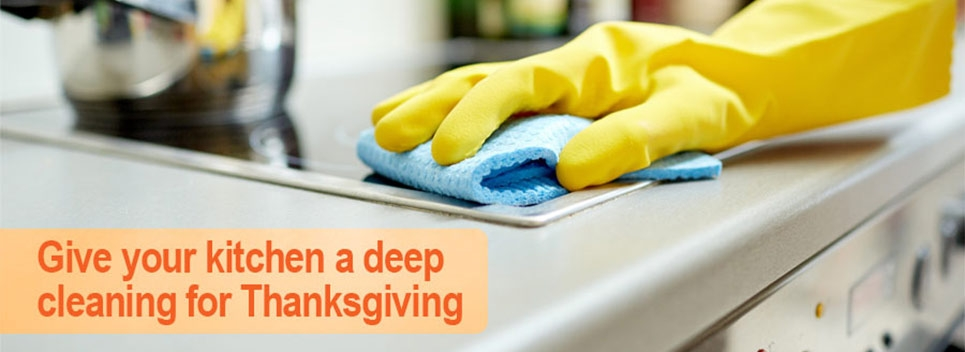 How To Give Your Kitchen A Deep Cleaning Before Thanksgiving