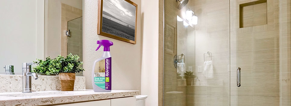 Make Life Easier With This Soap Scum Remover