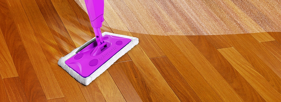 Dust Wood Floors With Microfiber Pads