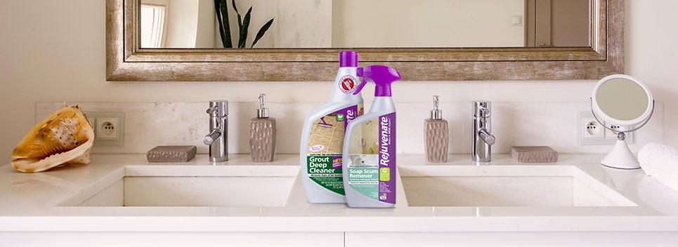 Bathroom Cleaner Essentials From Rejuvenate