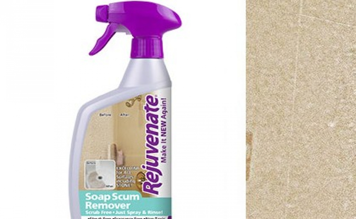 Removing Soap Scum the easy way.