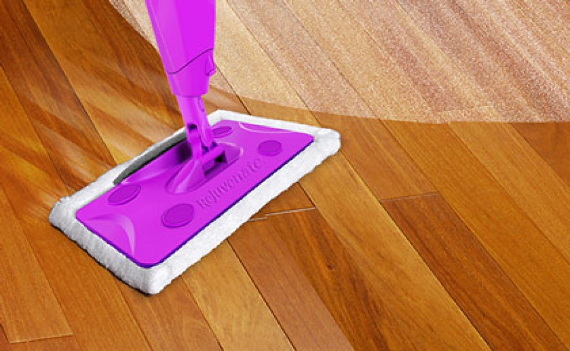 How To Dust Wood Floors With Microfiber Pads