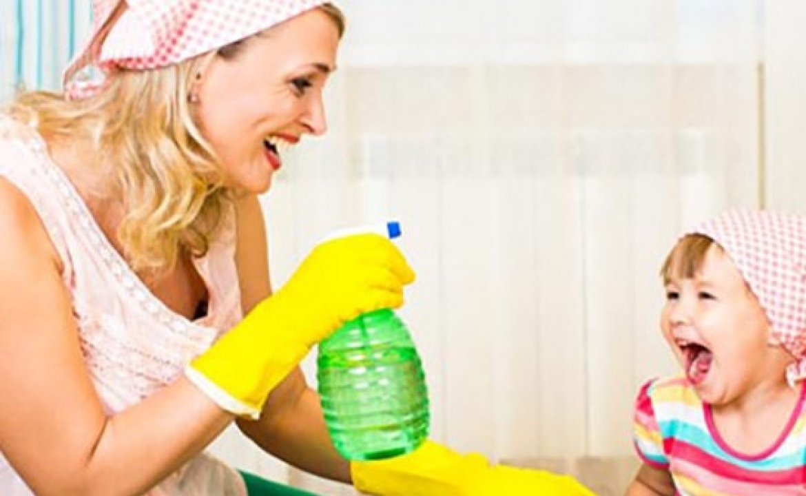 How To Make Cleaning Fun For Your Kids