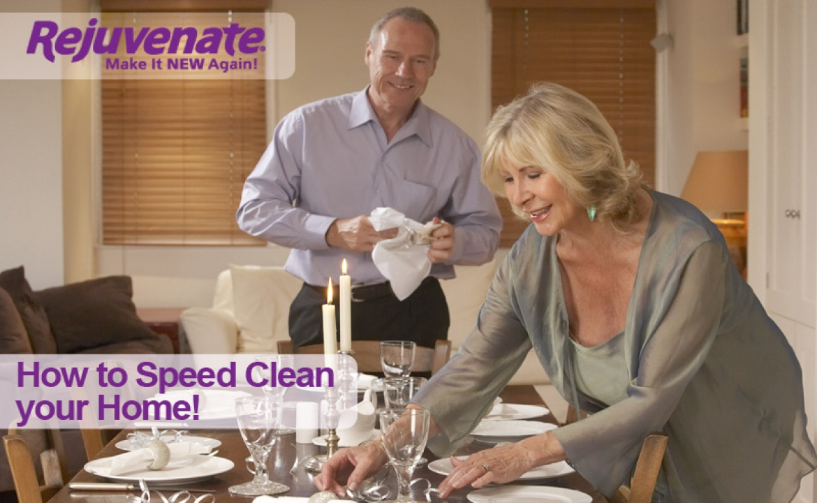 Speed Clean Before Guests Arrive