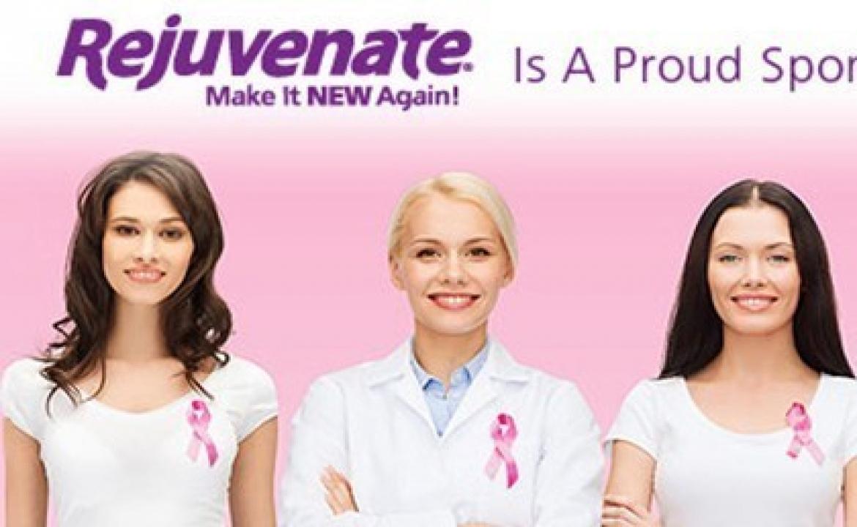 Rejuvenate® Home Donates to National Breast Cancer Foundation